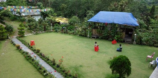 Garden top view, Homestay with amazing view, Yuksom, OurGuest