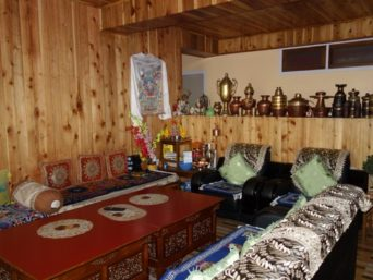 Lounge, A Peaceful Homestay, Okhrey, Village Tourism & Homestay OurGuest