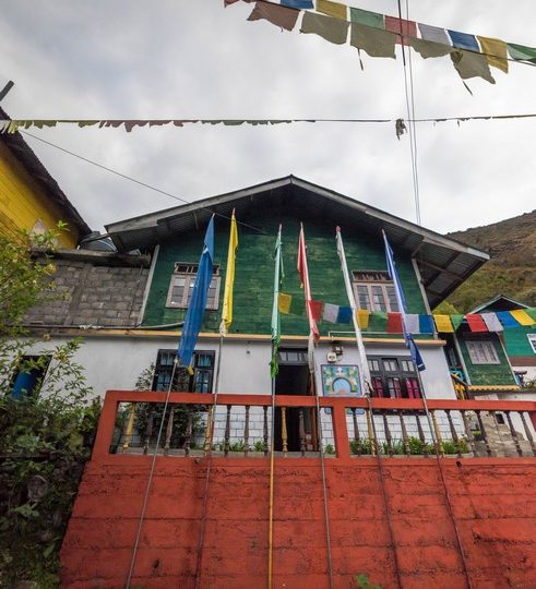 OurGuest Traditional Rural Homestay prayer flags