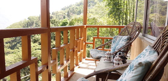 balcony exotic view homestay ourguest