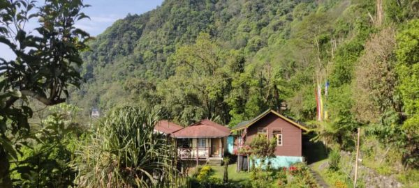 Front View, Tenzing's Homestay, homestay in sikkim, OurGuest