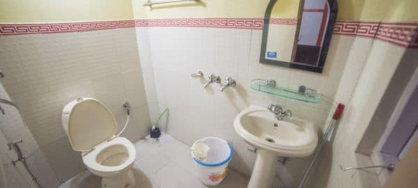 Washroom2 OurGuest Homestay Lachen