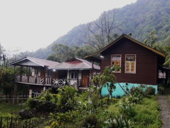 Backyard2 Tenzing's Homestay OurGuest