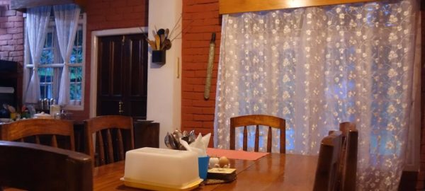 Dining Table, Private Pool Homestay near Pakyong Airport