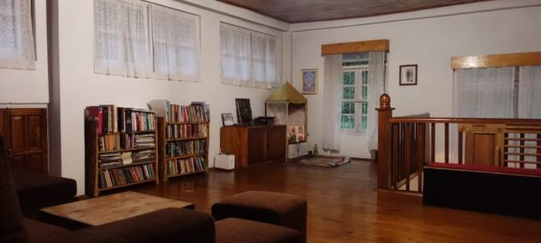 Library, Private Pool Homestay near Pakyong Airport, quiet accomodation gangtok, pakyong airport, cheap travel in sikkim, OurGuest