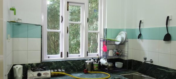 Kitchen 2, Norbu's Service Apartment, alternate accommodation gangtok, OurGuest