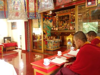 Prayer Room, Norbu's Service Apartment, sikkim budget tours and accommodations, OurGuest