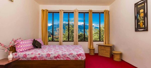 Room 2, OurGuest Mountain Retreat, Pelling, traditional homestay, Mt. Kanchenjunga View, OurGuest