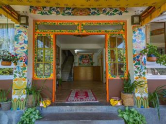 Entrance, OurGuest Mountain Retreat, Pelling, traditional homestay, exotic destinations, OurGuest