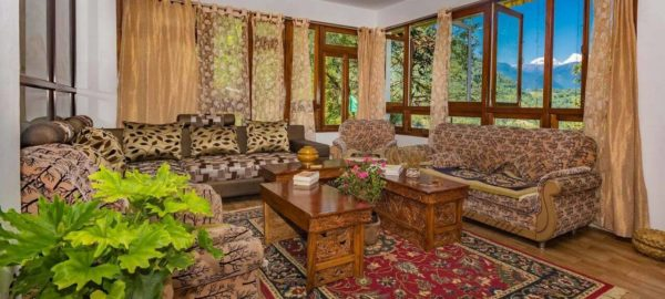 Lounge, OurGuest Mountain Retreat, Pelling, traditional sikkim homestay, authentic travel, OurGuest
