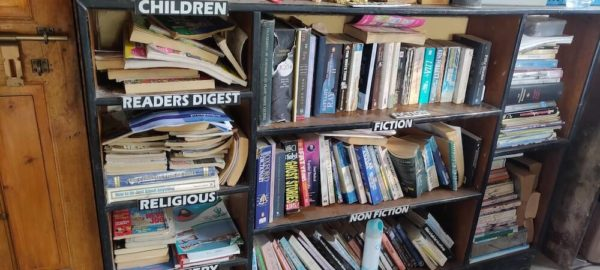 The Hanging Garden, library, books to read, OurGuest