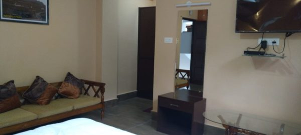 OurGuest Waterfall Homestay, clean linen, rooms in gangtok, OurGuest