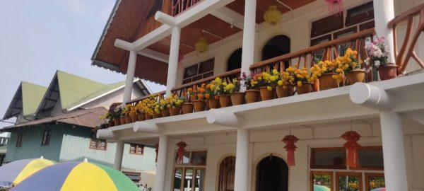 Front View, OurGuest Country Retreat, homestay in kalimpong, OurGuest