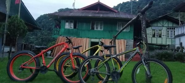 OurGuest Malla Kothi, Mangan, mountain biking in sikkim, OurGuest